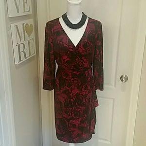 Ralph Lauren Floral Dress Sz 16